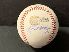Jose Contreras White Sox Autographed Signed 2005 World Series Baseball
