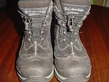 Columbia Black Bugaboot Winter Snow Boots Youth Boys or Girls Size 3