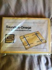 Saunders Omega 8x10 Adjustable Borderless Easel 465-010 NOS