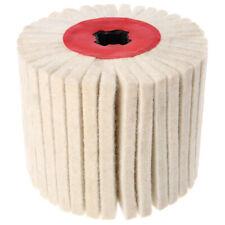 Deburring Abrasive Wool Round Brush Polishing Grinding Buffing Striping M8X6