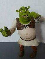 "Shrek Swamp Gas Slammin Arm Action Figure 6"" Tall Squeezable Toy 2004 Hasbro"