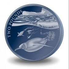 2016 British Antarctic Territory Emperor Penguin Titanium Coin SOLD OUT AT MINT
