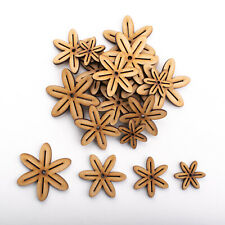 Wooden MDF Shapes Crafts Lotus Embellishments Decoration Card Making