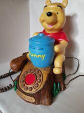 Rare Disney Winnie the Pooh & Piglet animated talking telephone