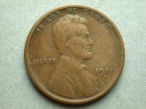 1911-S Lincoln Head Cent #2