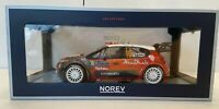 NEW 1:18 Norev Citroen C3 WRC Rally Monte Carlo 2018 Kirs Meeke And Paul Nagle