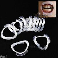 10pcs O Shape Mouth Cheek Lip Retractor Mouth Oral Opener Dental Fun Game Tool