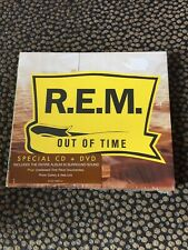 R.E.M. - Out Of Time [CD + DVD - Audio ] (2005 digipak ) 5.1 surround sound NEW!