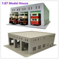 HO Scale 1:87 Outland Models Railway Layout Model Train Engine House (3 Stall)