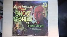 Alfred Hitchcock present GHOST STORIES forYoung People Wonderland Record LP 1974
