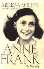 Anne Frank The Biography by Melissa Muller w/notes by Miep Gies HARDCOVER/DJ
