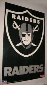 Original 1992 OAKLAND RAIDERS TEAM NFL POSTER