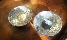 Silver Chinese export dishes from famous  9 silver houses circa 1880 SUPURB