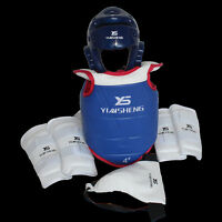 Adults Children Thickening Taekwondo Sparring Equipment Protective Gear 6pcs/set