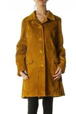 Missoni for Target Mustard Olive Wide Wale Corduroy Over Coat M