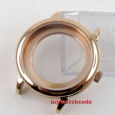 fit Eta 2824 2836 Movement P69P 40mm rose golden automatic Watch Case