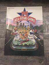 LaMarr Hoyt Signed 1985 All Star Game Program JSA