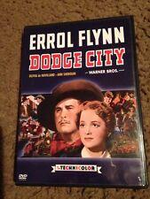 Dodge City DVD Errol Flynn, Olivia de Havilland, Ann Sheridan,Like New!!