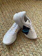 New listing Asics Men's EvoRide Running Shoe, White/Gold 9.5D(M) Us