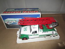 1994 Nib Toy Hess Gasoline Rescue Truck with Lights Horn Siren