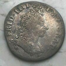1702 Denmark 8 Skilling - Scarce Silver