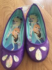 Brand New Frozen Purple Shoes -Size 12 Youth