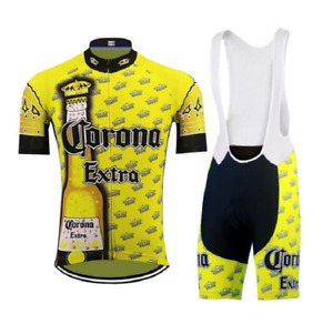 Classic yellow Jersey Set Ropa Cycling Man suit Mtb cycling clothing breathable
