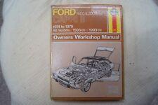 ford capri mk2 workshop manual