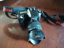 Mint Condition PENTAX K100D  6.1MP DSLR Camera - Black w/ DA 18-55mm