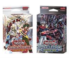 Konami YuGiOh Starter Decks 1 Saber Force & 1 Dark Legion 1st Edt