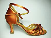 HORUS 302 scarpe da ballo donna raso tacco 70 RP alte basse pelle raso bufalina
