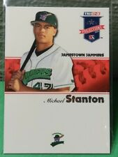 "MIKE ""GIANCARLO"" STANTON JAMESTOWN JAMMERS 2008 TRISTAR PROJECTION ROOKIE CARD"