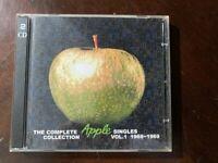 ULTRA RARE!  COMPLETE SINGLES COLLECTION VOL 1  2 CD BEATLES APC-0012 10262