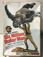 Six Million Dollar Man Fight For Survival! Fundimensions COMPLETE w Copy Instrux