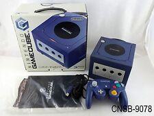 Japanese Boxed Nintendo Gamecube Violet Indigo Console System Japan Import CIB