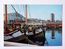 TRIESTE Sacchetta Piscina barca Bragozzo vecchia cartolina