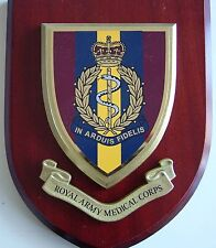 RAMC ROYAL ARMY MEDICAL CORPS CLASSIC HAND MADE REGIMENTAL MESS PLAQUE