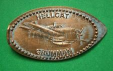 Hellcat Grumman elongated penny Usa cent Flying Machines Series coin