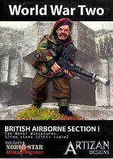 Artizan Designs 28mm Metal British Airborne Section I Miniatures (10)