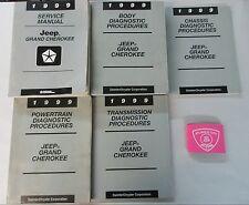 1999 JEEP GRAND CHEROKEE SERVICE SHOP REPAIR MANUAL SET WITH DIAGNOTIC PROCDURES