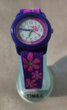 Timex Kidz T89022  Flowers Time Teacher Watch│Flower Strap│Analogue Display