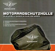 Zündapp KS 50 80 125 175 Mofa bis Motorrad Faltgarage Schutzhülle mit Emblem NEU
