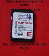 vehicle gps software maps for nissan qashqai for sale ebay. Black Bedroom Furniture Sets. Home Design Ideas