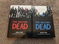 The Walking Dead Vol 1-2 Hardcover Graphic Novel Comic Horror Image NICE