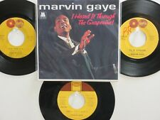 4  'MARVIN GAYE' HIT 45's +1P(Copy)[I Heard It Through The Grapevine] 60's&70's!