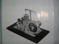 HOT AIR ENGINE MATERIAL SET FOR MODEL BUILDER.