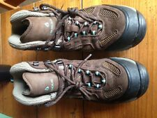 Women's brown Vasque Breeze GTX 2.0 hiking boots size 8