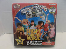 High School Musical 2 CD Board Disney Channel #6814 Cardinal Industries NIB!