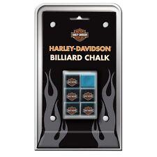 New listing Harley Davidson Pool Cue Billiard Chalk 6 Pieces