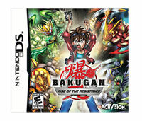 Bakugan Rise of the Resistance (Nintendo DS, 2011) Brand New